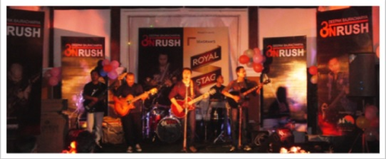 At Onrush's Night, in Pokhara, Nepal 2011